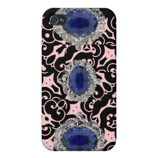 Royal Sapphire iPhone Case iPhone 4 Covers