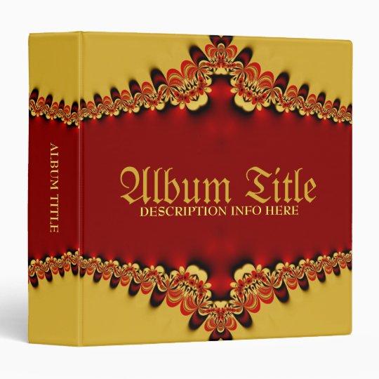 Royal Satin Wedding Anniversary Album Binder