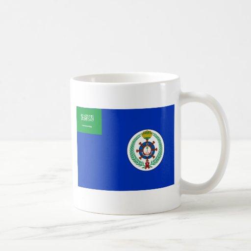 Royal Saudi Navy, Saudi Arabia flag Classic White Coffee Mug