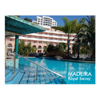 Royal Savoy 5* Madeira Postcard