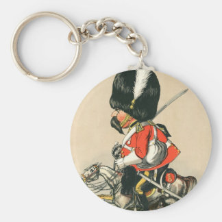 Royal Scots Greys Soldier Keychain