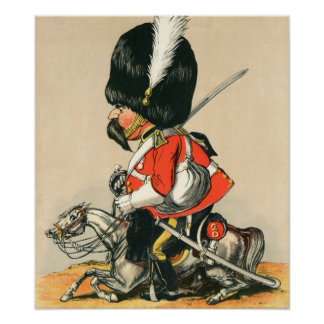 Royal Scots Greys Soldier Poster