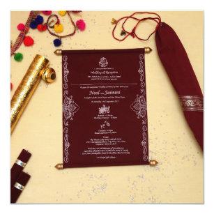 royal scroll invitations zazzle