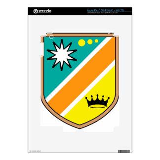 Royal Shield vector illustration clip-art Decal For iPad 3