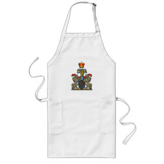 Royal Shield, William and Kate, Optional Text Long Apron