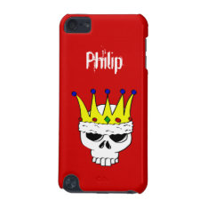 Royal Skull Ipod Touch Case Template at Zazzle