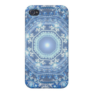 Royal Snowflake iPhone 4/4S Cases