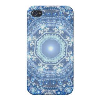 Royal Snowflake iPhone 4 Case