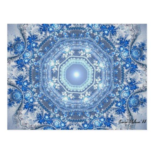 Royal Snowflake Postcard