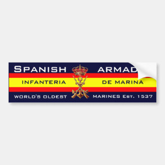 Royal Spanish Marines Bumper Sticker