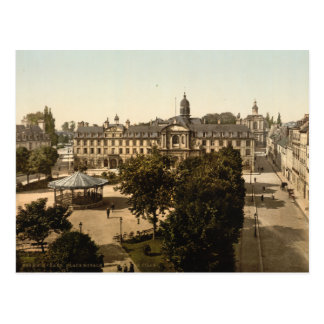 Royal Square, Caen, Basse-Normandie, France Postcard