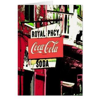 Royal St Pharmacy New Orleans French Quarter card