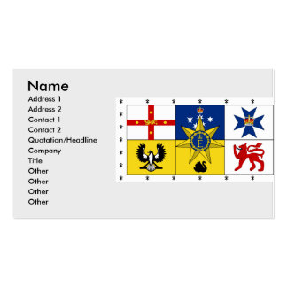 Royal Standard Australia, Australia Double-Sided Standard Business Cards (Pack Of 100)