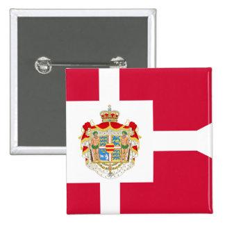 Royal Standard Of Denmark, Greenland flag Pin