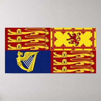 Royal Standard of Great Britain Poster