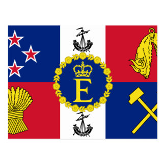 Royal Standard Of New Zealand, New Zealand Postcard