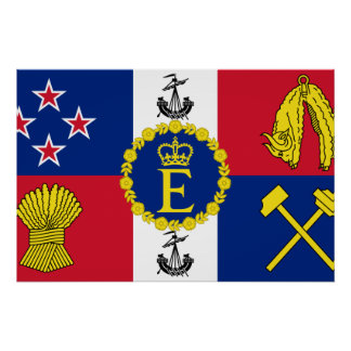 Royal Standard Of New Zealand, New Zealand Posters