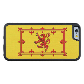 Royal Standard Of Scotland Carved Maple iPhone 6 Bumper Case