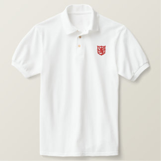 Royal Standard of Scotland Embroiderd Polo Shirt