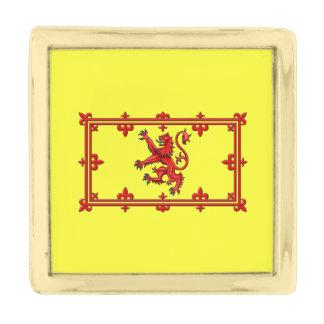 Royal Standard Of Scotland Gold Finish Lapel Pin