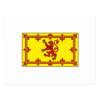 Royal Standard of Scotland Postcard