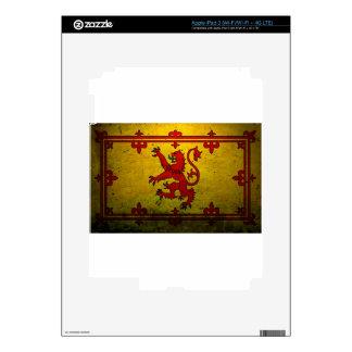 ROYAL STANDARD OF SCOTLAND iPad 3 DECAL