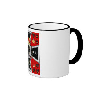 Royal Standard of the King of Prussia Coffee Mugs