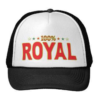 Royal Star Tag Trucker Hat