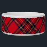 "Royal Stewart Bowl<br><div class=""desc"">Royal Stewart clan tartan plaid</div>"