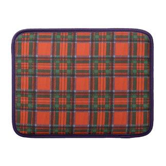 Royal Stewart clan Plaid Scottish tartan MacBook Sleeves