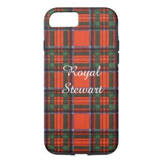 Royal Stewart clan Plaid Scottish tartan iPhone 8/7 Case