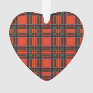 Royal Stewart clan Plaid Scottish tartan Ornament