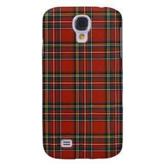 Royal Stewart Classic Red Scottish Tartan Samsung Galaxy S4 Case
