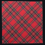 "Royal Stewart Cloth Napkin<br><div class=""desc"">Royal Stewart tartan plaid</div>"