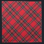 "Royal Stewart Cloth Napkin<br><div class=""desc"">Royal Stewart tartan plaid</div>"