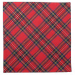 Royal Stewart Cloth Napkin<br><div class='desc'>Royal Stewart tartan plaid</div>