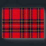 """Royal Stewart Envelope<br><div class=""""desc"""">Royal Stewart tartan plaid</div>"""