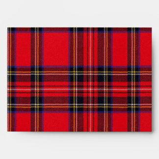 Royal Stewart Envelope