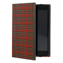 Royal Stewart Family Red, Blue, and Green Tartan Case For iPad Mini