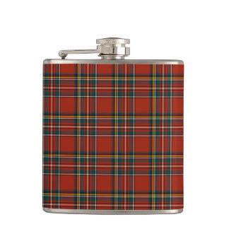 Royal Stewart Family Tartan Classic Red Plaid Flask