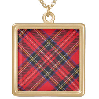 Royal Stewart Gold Plated Necklace