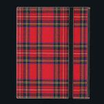 """Royal Stewart iPad Cover<br><div class=""""desc"""">Royal Stewart tartan plaid</div>"""