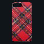 "Royal Stewart iPhone 8 Plus/7 Plus Case<br><div class=""desc"">Royal Stewart clan tartan plaid</div>"