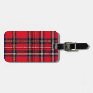 Royal Stewart Tag For Luggage