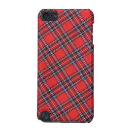 Royal Stewart Modern Scottish Highland Clan Tartan iPod Touch (5th Generation) Case