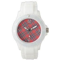 Royal Stewart Modern Scottish Highland Clan Tartan Watch