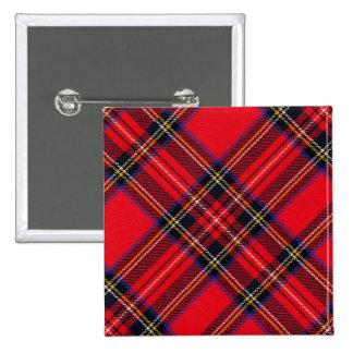 Royal Stewart Pinback Button