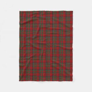 Royal Stewart Plaid Fleece Blanket