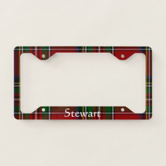 Royal Stewart Plaid License Plate Frame