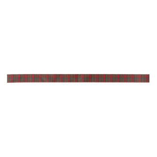 Royal Stewart Plaid Ribbon Satin Ribbon